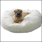 caminha para cães e gatos modelo polar 90 cm de diametro