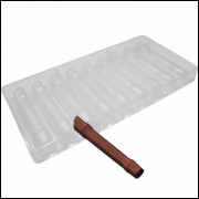 Molde Policarbonato Bambu Para Chocolate 9 Cavidades