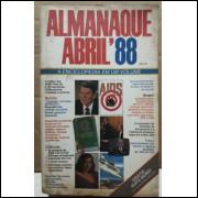 Almanaque Abril 1988 Livro