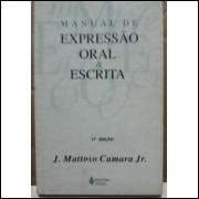 J Mattoso Camara Jr Manual De Expressão Oral E Escrita 17ª Ediçao