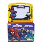 Livro Ilustrado Spider Man Lousa Magica - Melhoramentos