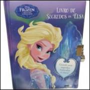 Livro Ilustrado Frozen Segredos Da Elsa - Melhoramentos
