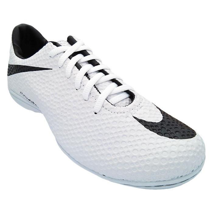 Chuteira Society Nike Hypervenom Branco e Preto MOD:11948
