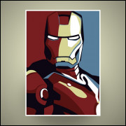 Poster Iron Man 29x42cm em HD