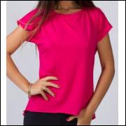 CAMISA MANGA CURTA DRYFIT LISA VISCOSE JLS5192- Camisa DryFit Lisa
