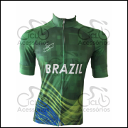 CAMISA UNISSEX BRASIL - SINERGY SPORTS