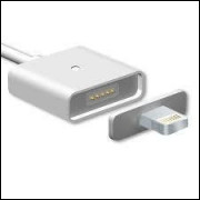 Metal Magnetic-Data Cable: iPhone 5 e V8.