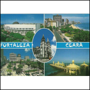 For-22024- Postal Fortaleza C E- Imagens Da Cidade