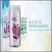 Colônia Deo Desodorante Refrescantes Baby Smell 300ml  avon