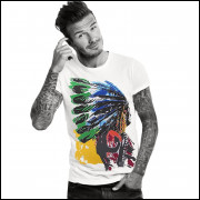 Camiseta American Indian - Em Varias Cores