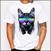 Camiseta Dj Cat 2017 - Branca