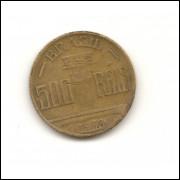 Moeda Brasil 500 réis 1938.- 190 -