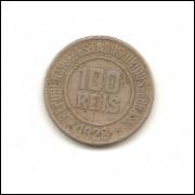 Moeda Brasil 100 réis 1928.- 193 -