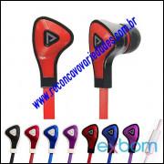 Fone de Ouvido Para Celular C/ Microfone Estéreo Plug 3,5mm
