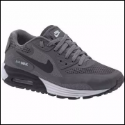 Tenis Nike Air Max 90 Grafite/Preto Ref. 4030