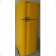 Adesivo para Envelopamento de Geladeira - Amarelo Fosco - A partir de R$ 72,90