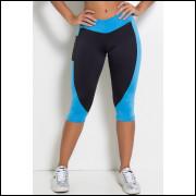 calça fitness corsário