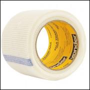 Tela Adesiva Trancada Para Drywall 100 Mm X 20 M Vonder