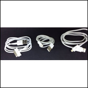 GRÁTIS + Frete Um lindo cabo para carregador ou de Dados V8 ou de iPhone4 ou 5,6,7... à sua escolha.