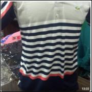 Kit 100 Camisa Polo Listrada Malha 100% Algodão R$ 11,00 Unid.