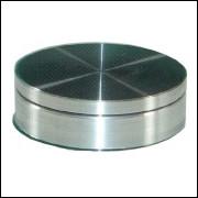Peça em Alumínio Para Prato Giratório