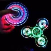 Hand Spinner Com Led- Queima De Estoque
