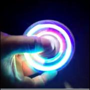 Spinner Com Led 3 Sequencias De Led Relax
