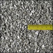 Areia metálica para artesanato prata