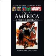 Capitão América - Tempo Esgotado - Coleção Oficial Marvel