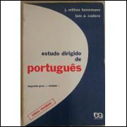 Estudo Dirigido De Portugues Vol 1 Segundo Grau Benemann Cadore Livro do Professor
