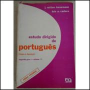 Estudo Dirigido De Portugues Vol 3 Segundo Grau Benemann Cadore Livro do Professor