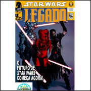 Star Wars - Legado 1 - 50 Hqs Digital Cbr