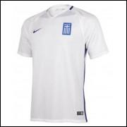 Camisa Grécia I 17/18 Nike