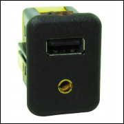 Conector Usb Auxiliar P2 Painel Gm Sonic 12/14