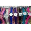 Kit Com 10 Relógios Femininos com pulseira de silicone Atacado  Revenda com frete grátis