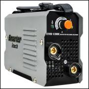 Máquina de Solda Inversora De Solda Smarter Itech EVO-130C 130A Monofásica 220V