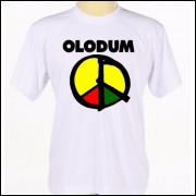 Camisa Camiseta Personalizada Estampada Banda De Axé Olodum