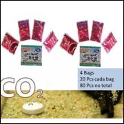 Co2 Sache C/ 80 Pastilhas Tablets P/ Aquários (80pcs)