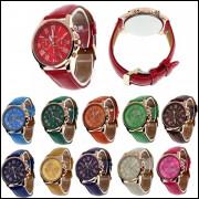 6df51f9008d Relógio Feminino Barato Para Revenda Geneva Dourado Atacado
