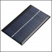 Mini Painel Placa Célula Solar 6V 1W 200Ma para Eletrônica Elétrica
