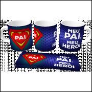 Caneca Dia dos Pais personalizada com foto e nome -  em Cerâmica 325ml