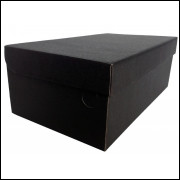 100 Caixas Preta Fosco 33x19x12 - Frete Grátis