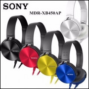 Kit 2 Fone Ouvido Sony Mdr-xb450ap Extra Bass