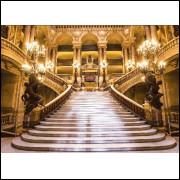 Painel Sublimado Palácio Escadaria 2,5 X 5,0 Sem Emenda