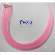 Mecha Coloridas Tic Tac Aplique 50cm Pink 2 - Frete Grátis