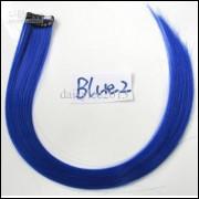 Mecha Coloridas Tic Tac Aplique 50cm Azul 2 - Frete Grátis
