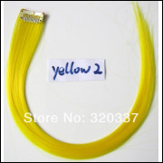 Mecha Coloridas Tic Tac Aplique 50cm Amarelo - Frete Grátis