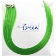 Mecha Coloridas Tic Tac Aplique 50cm - Verde