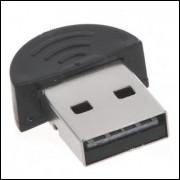 Mini Adaptador Bluetooth USB 2.0 Wireless Dongle V2.0 Frete Grátis