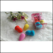 Pacote Com 12 Kits Com 4 Mini Esponjas Hello Mini